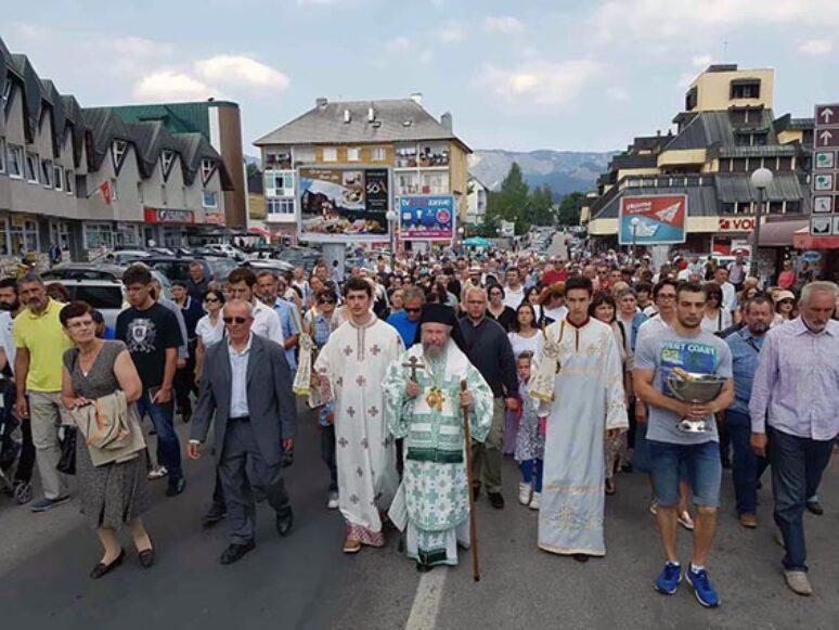 Преображење Господње торжествено прослављено на Жабљаку