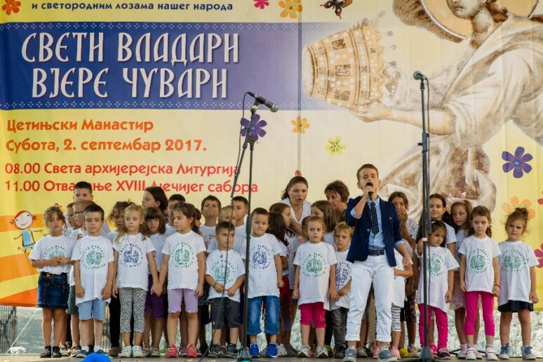 XVIII Pravoslavni dječji sabor Crne Gore. Cetinje