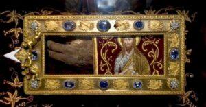 Прослава преношења три свехришћанске светиње на Цетиње