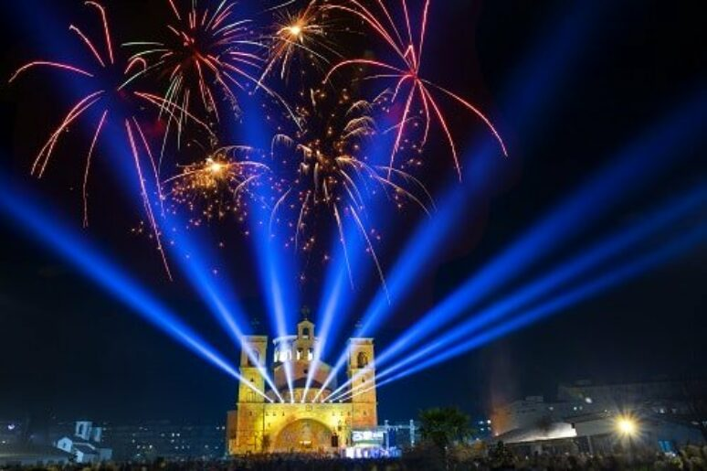 Protojerej Mirčeta Šljivančanin najavljuje slavu hrama Hristovog Vaskrsenja i Sabor pravoslavne omladine