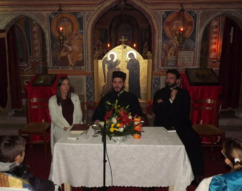 "Katedra:  Đakon Ivan Crnogorčević- ""Pouke Svetog Vladike Nikolaja Velimirovića"""