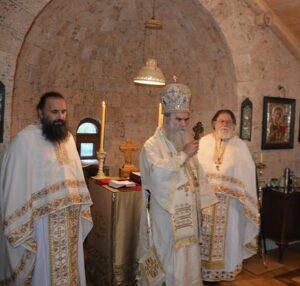 Митрополит Амфилохије служио Литургију у манастиру Дуљево