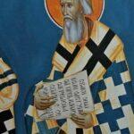 Патријарх Павле фреска Борис Маркуш