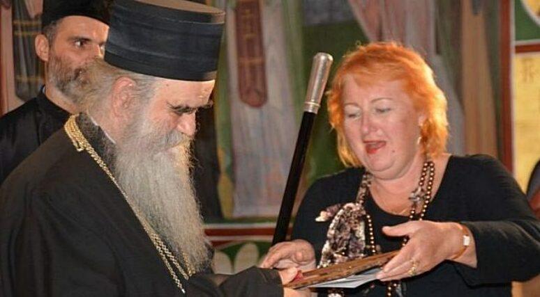 Savez pisaca Rusije odlikovao Mitropolita Amfilohija zlatnom medaljom Puškina