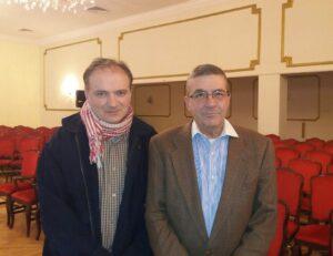 Dr Srdja Trifkovic I Spiridon Bulatovic