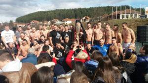 Plivanje Za Bogojavljenski Krst U Beranama 3