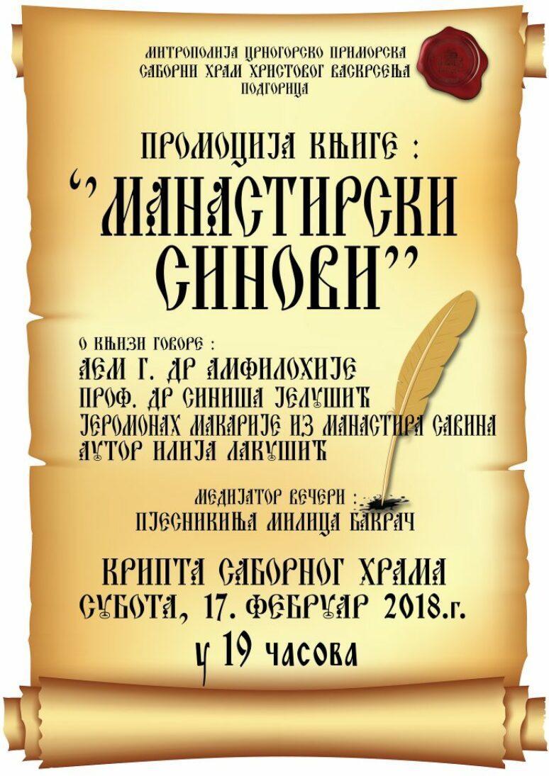 Plakat Ilija Lakusic Promocija