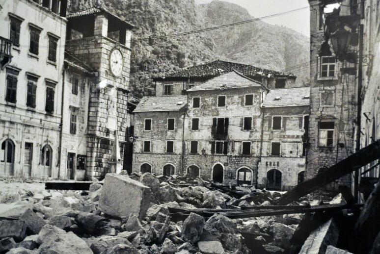 Potres Crna Gora 1979