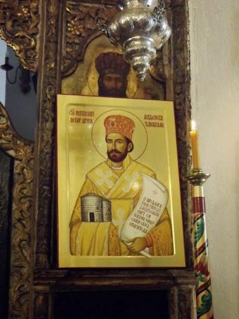 Његошева икона у Цетињском манастиру