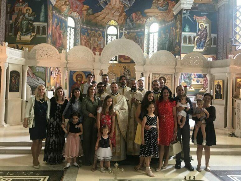 Прослава 18. година од завршетка матуре IV генерације обновљене Цетињске богословије (1995-2000) у Требињу