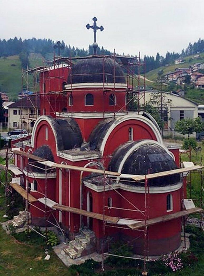Obnova Crkve U Rozajama