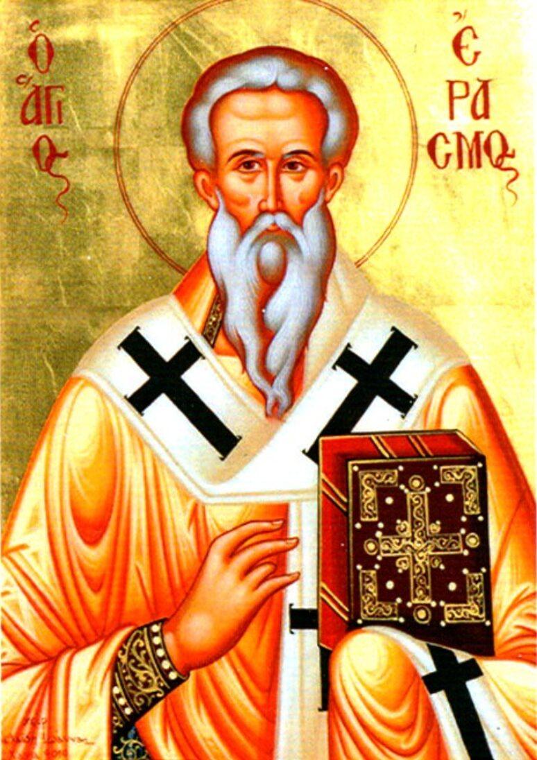Свети свештеномученик Еразмо Охридски