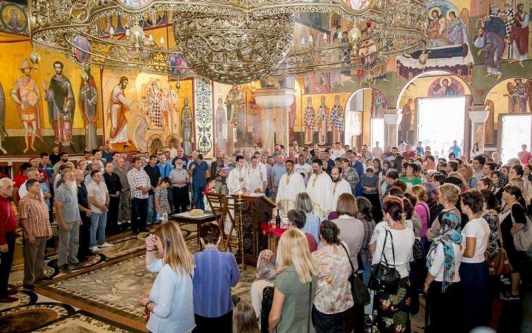 Vidovdan Liturgija U Sabornom Hramu U Podgorici