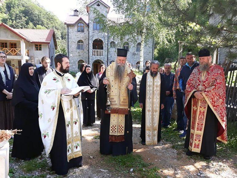 Jul 2018 Osvecenje Zvona U Manastiru Bijela 3