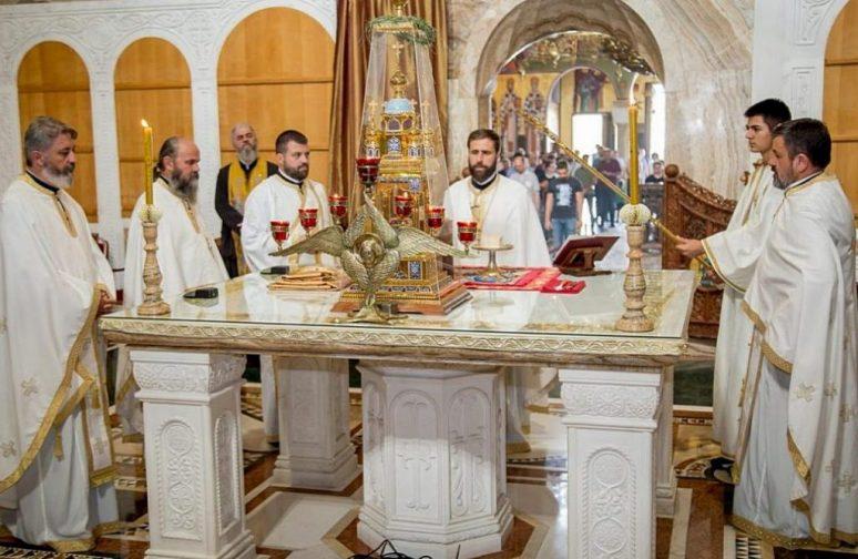 Liturgija U Sabornom Hramu Vaskrsenja Hristovog U Podgorici