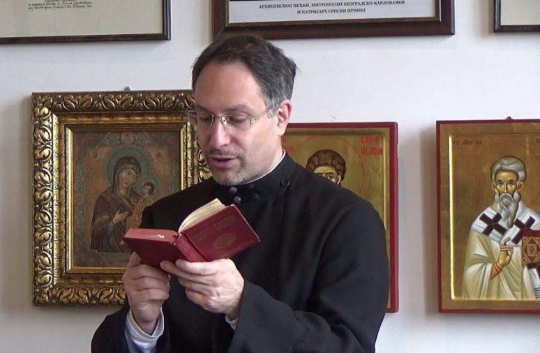 Protodjakon Dr Sava Milin