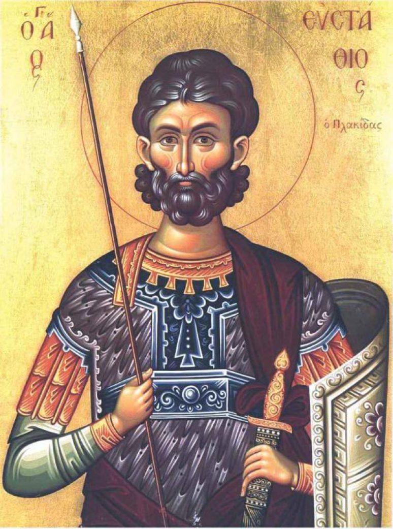 Sveti velikomučenik Jevstatije