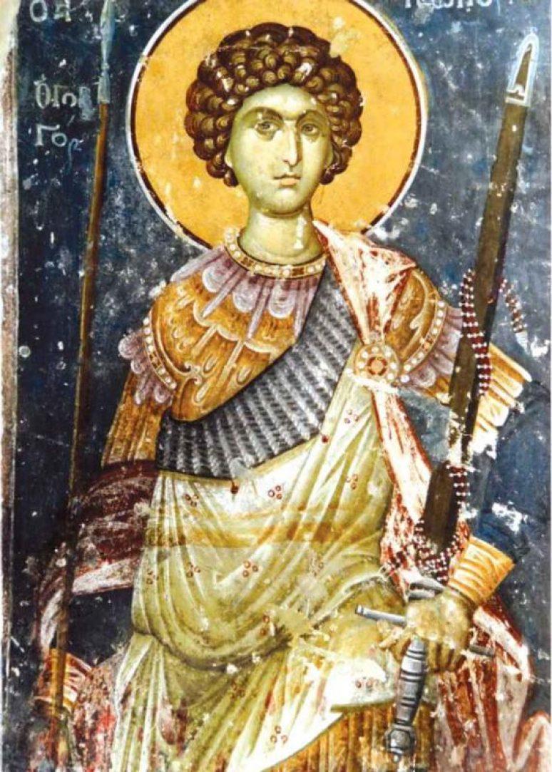 Обновљење храма Светог великомученика Георгија