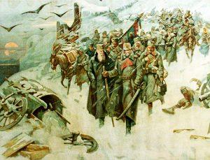 Povlacenje Srbijanske Vojske