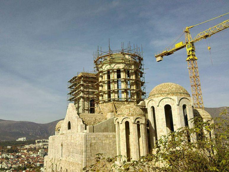 Саборни храм Свете Тројице у Мостару (Фото РТРС)