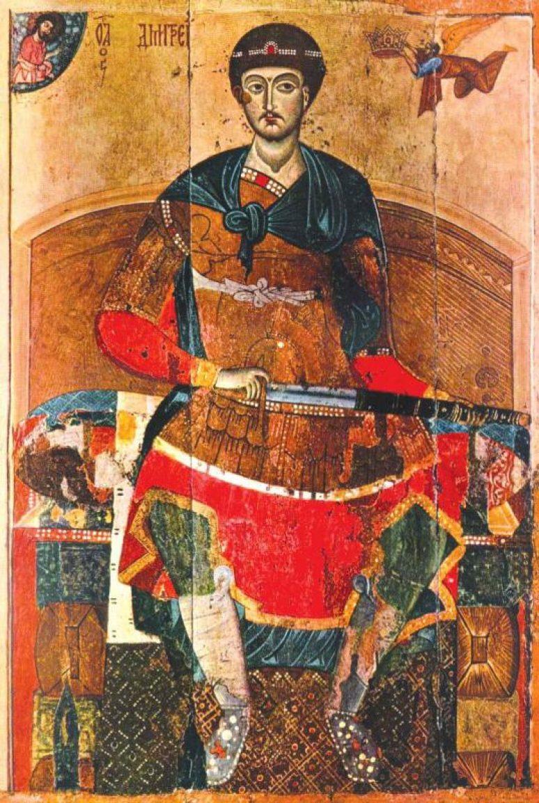 Sveti velikomučenik Dimitrije