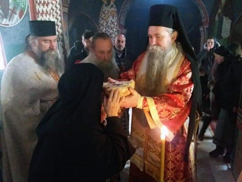 Arhijerejska Liturgija U Manastiru Podmalinsko