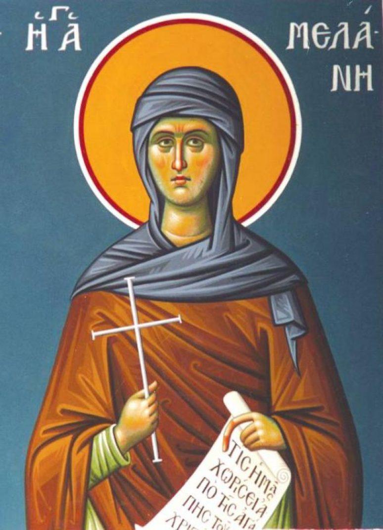 Преподобна Меланија Римљанка