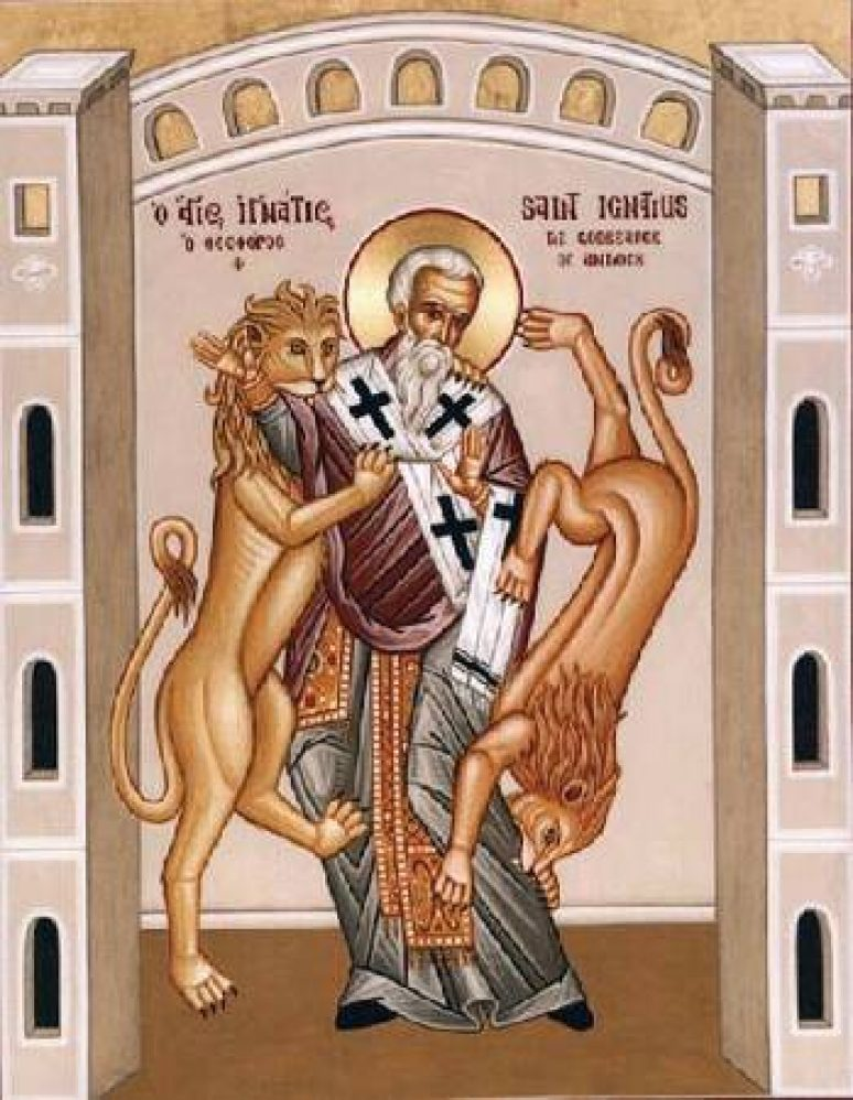 Пренос моштију Светог Игњатија Богоносца