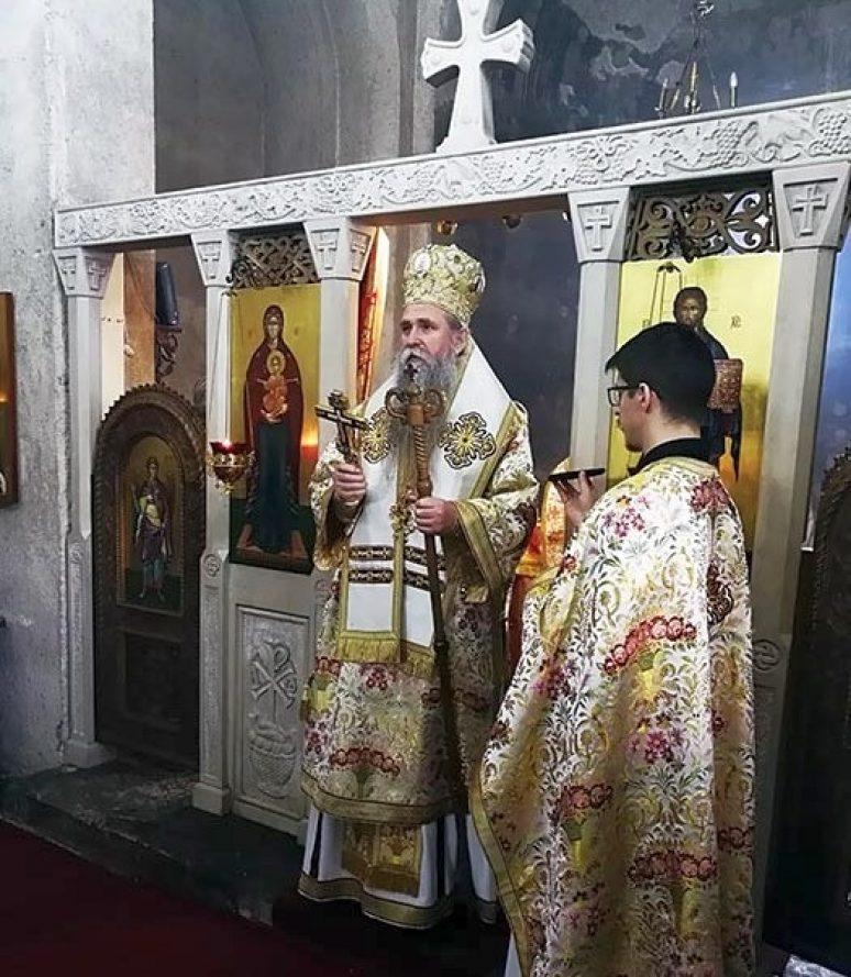 Feb 2019 Arhijerejska Liturgija Na Sretenje U Djurdjevim Stupovima