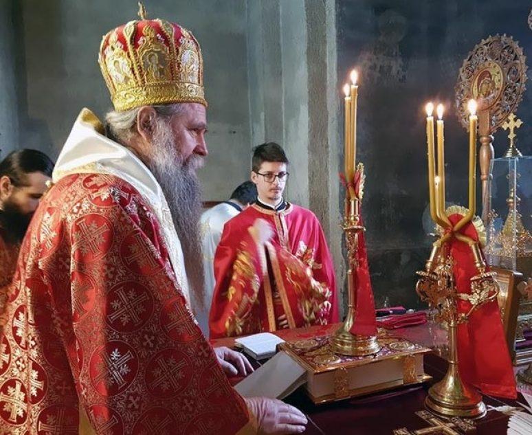 Feb 3 2019 Arhijerejska Liturgija U Djurdjevim Stupovima