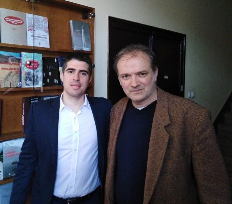 Др Милутин Живковић, историчар
