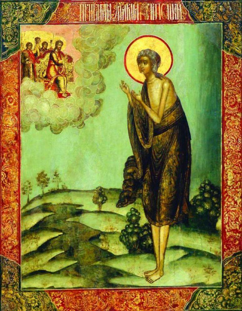 Prepodobna Marija Egipcanka