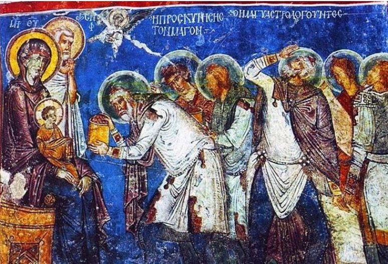 Mudraci Prinose Darove Isusu