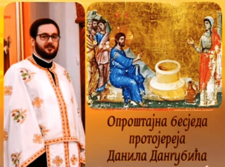 Otac Danilo Dangubic