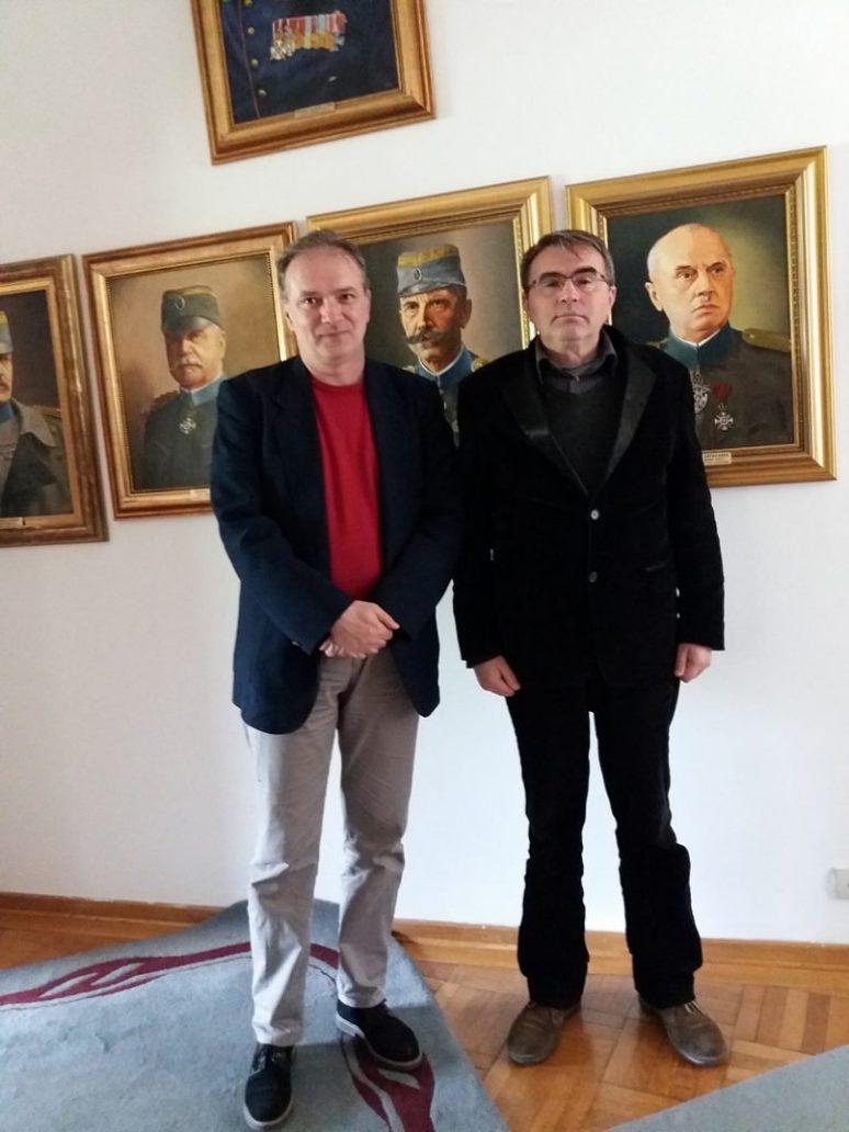 Слободан Ерић, уредник часописа Геополитика