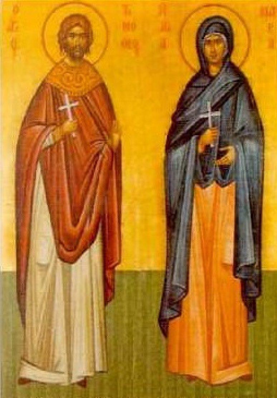 Свети мученици Тимотеј и Мавра