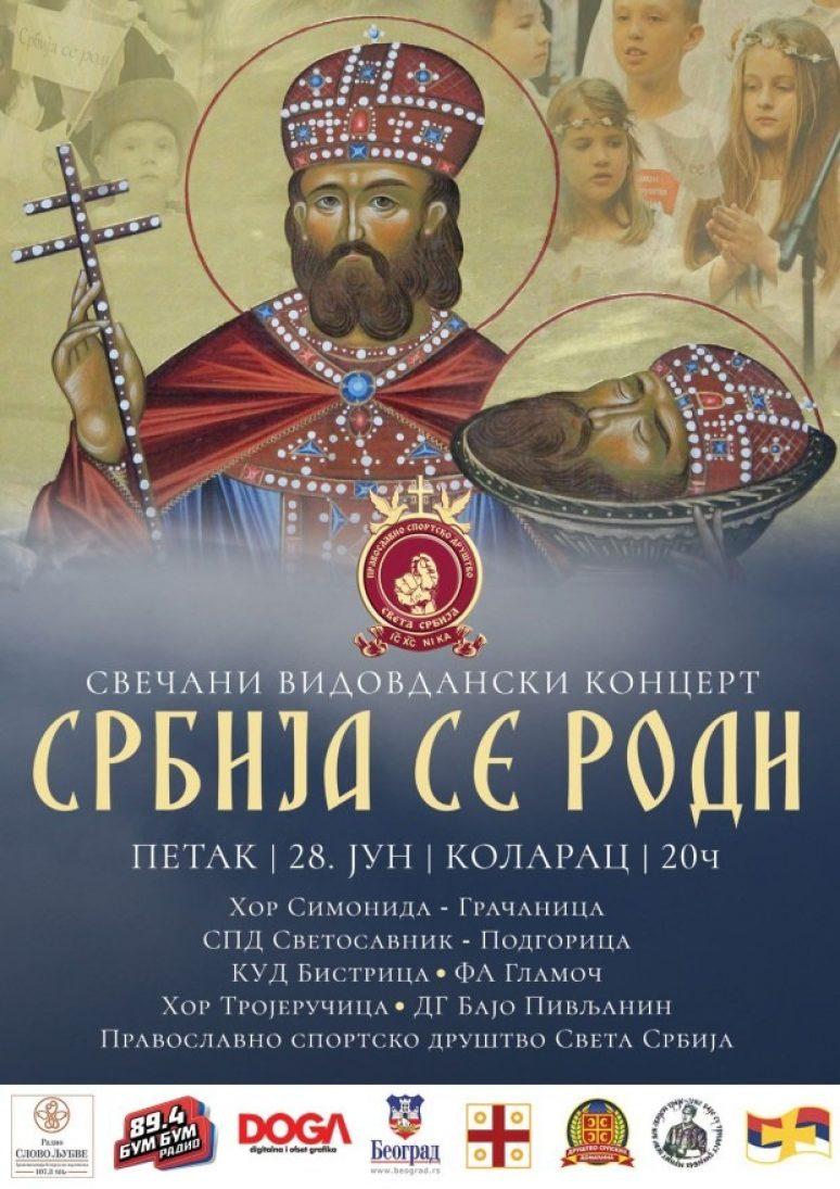 Srbija Se Rodi Plakat