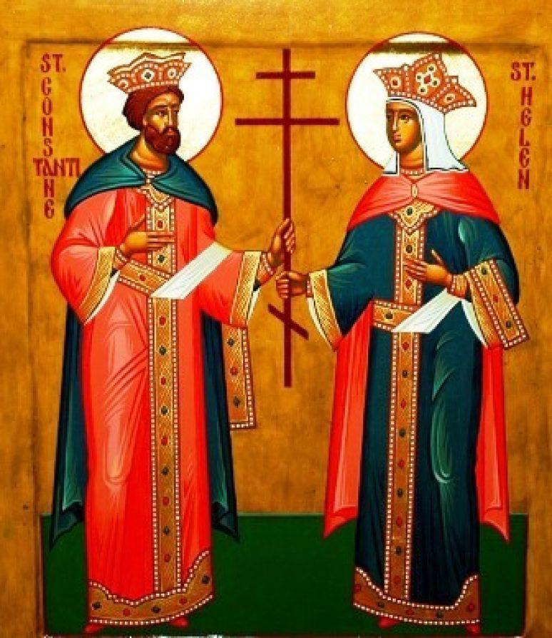 Sveti Car Konstantin I Carica Jelena