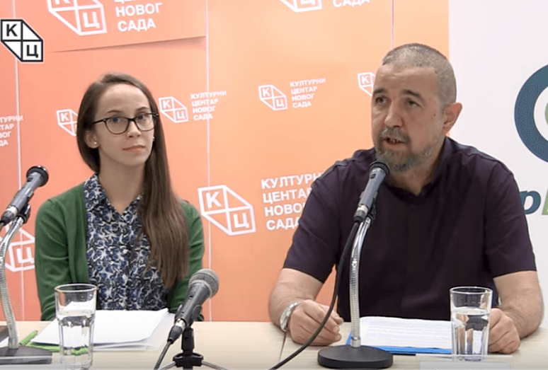 Милован Балабан и Николина Тутуш