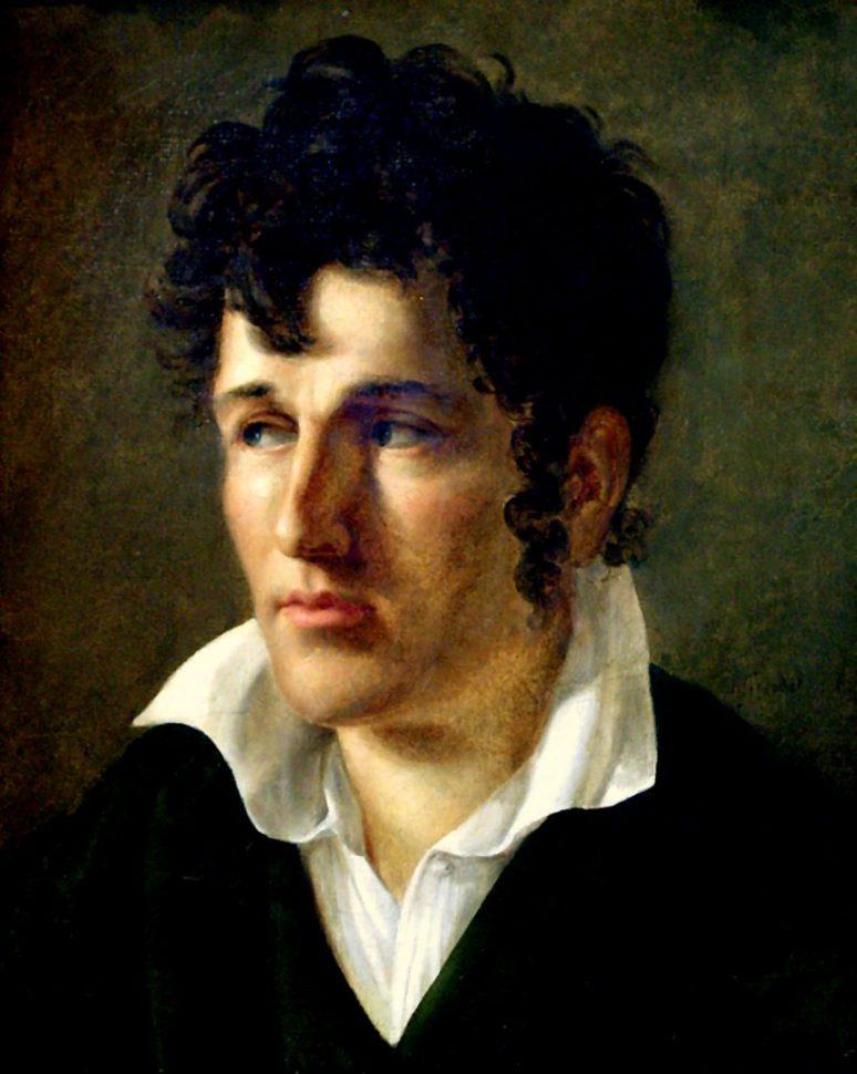René De Chateaubriand By Anne Louis Girodet De Roucy Trioson