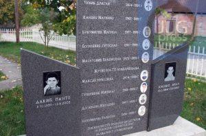 Gorazdevac Spomenik Ubijenim Decacima