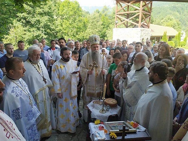 Arhijerejska Liturgija I Slava U Zlatesu