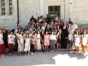 Avg 2019 Arhijerejska Liturgija Liturgija Na Prepodobnu Angelinu 9
