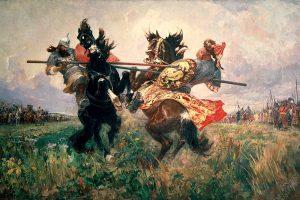 History Of Russia. Prince Vladimir