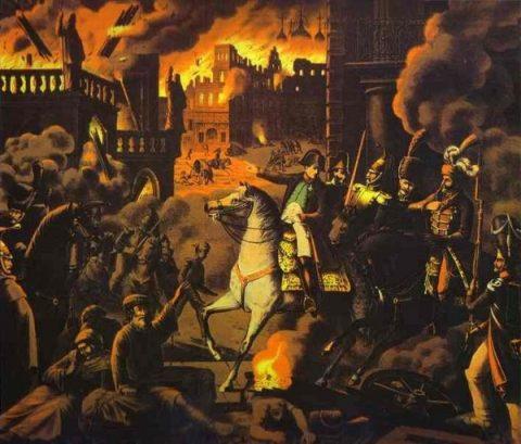 Paljenje Moskve