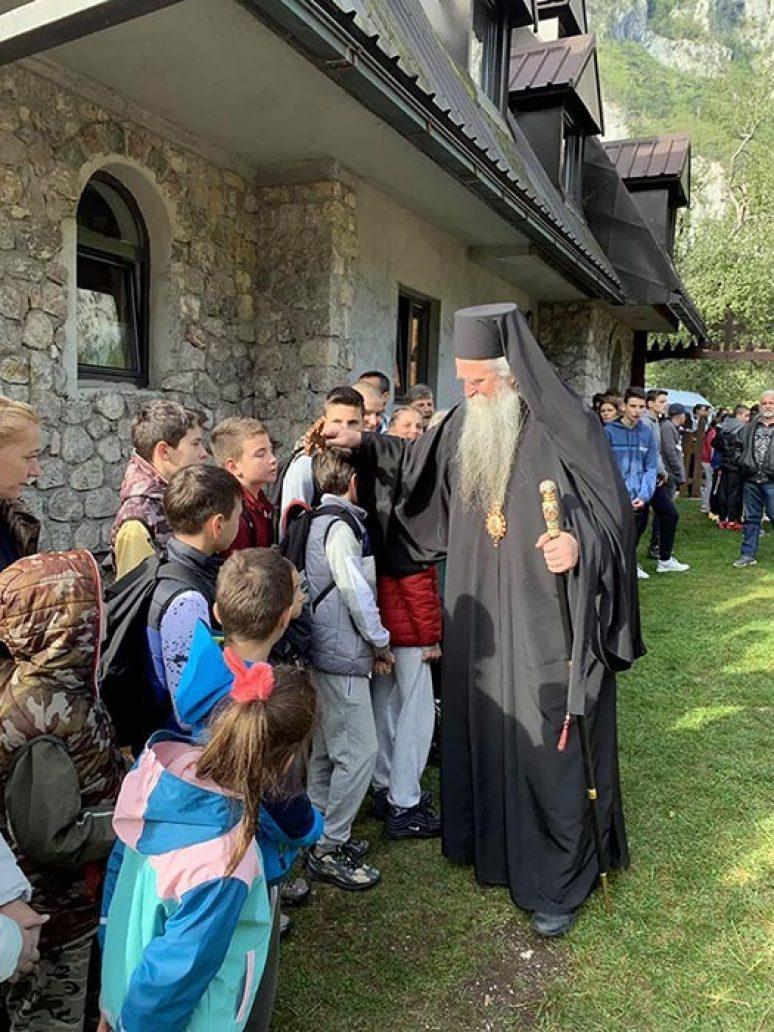 Sep 2019 Arhijerejska Liturgija I Djeciji Sabor U Dobrilovini 1