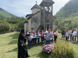 Sep 2019 Arhijerejska Liturgija I Djeciji Sabor U Dobrilovini 16