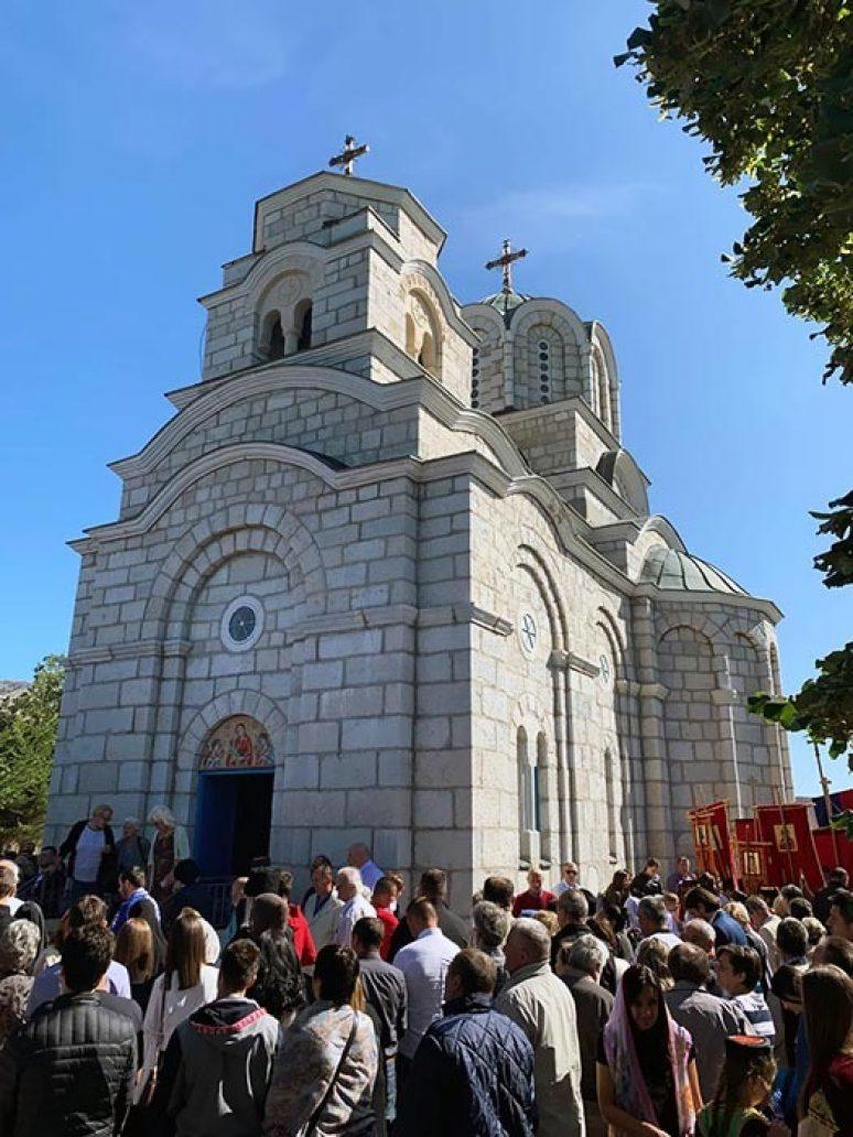 Sep 2019 Arhijerejska Liturgija I Slava Manstira Kosijerevo 16