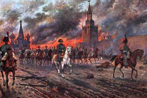Napoleon Napustio Rusiju