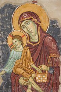 Freska Bogorodice Ljeviska